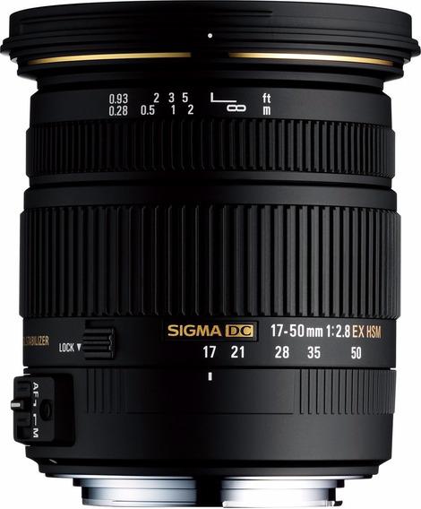 Sigma 17-50mm F2.8 Dc Os Hsm ( Canon / Nikon )