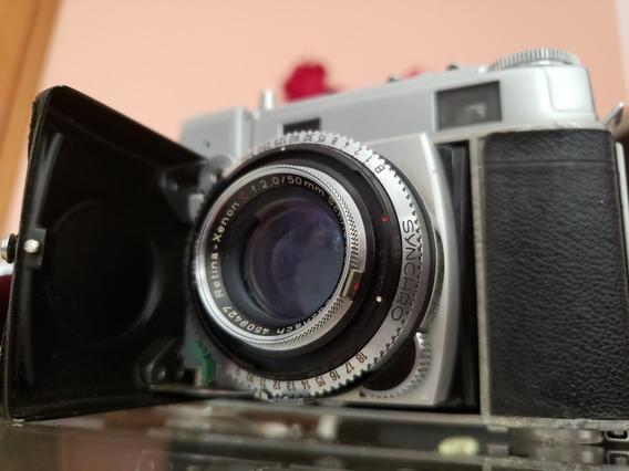 Camera Kodak Retina Iii C - Lente Xenon 50 Mm