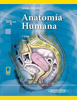 Latarjet. Anatomía Humana 2 Tomos 5a Ed 2019 Libro