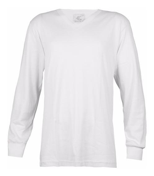 Camiseta Eyelit Art 174 M/ Larga Jersey Dealgodón S - Xl Rim
