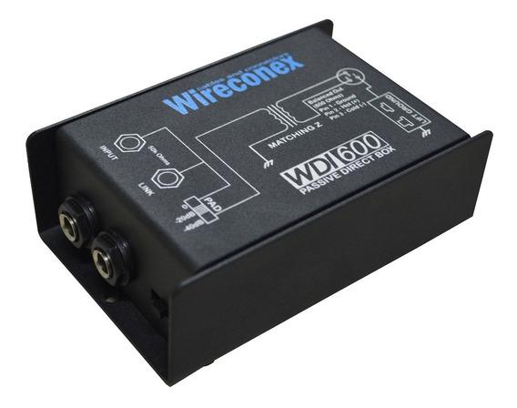 2 Direct Box Wireconex Wdi-600 Passivo Profissional