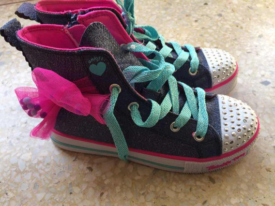 Zapatos Skechers Originales Prenden Luces Talla 13.5