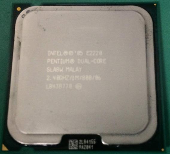 Processador Intel Pentium Dual Core E2220 2.4ghz