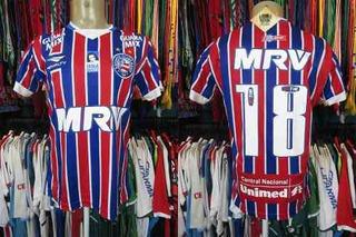 Bahia 2016 Camisa Reserva Tamanho M Número 18.