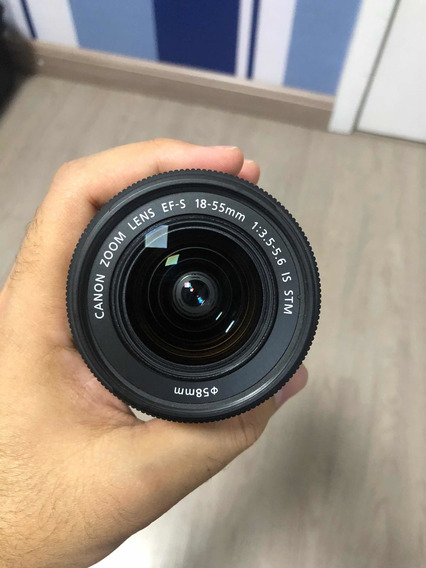 Lente Canon 18-55mm Efs