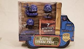 Impresionante Little Verde Hombre 4pc Starter Pack Series 2