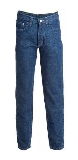 Pantalon Jean Clasico Denim Azul Buffalo Trabajo