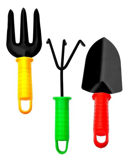 Conjunto Ferramentas Para Jardinagem 3 Peças Tipo Tramontina