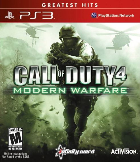 Call Of Duty 4 Modern Warfare Ps3 Psn Digital Envio Imediato