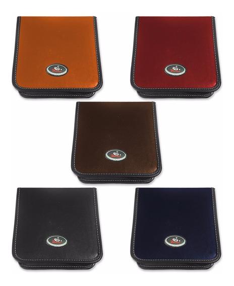 3 Porta Cd Dvd Case 40 Midias Jiadai Original - 5 Cores