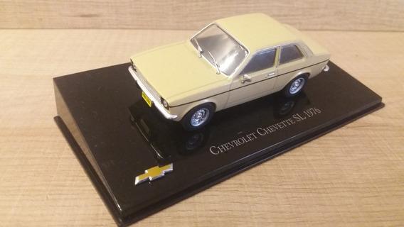Miniatura Chevette Ed.51 Salvat Modelo Sl Ano 1976 Bege