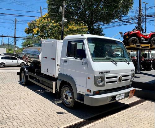 Imagem 1 de 10 de Caminhão Tanque 8.150 E Delivery Volkswagen. 2007/2007
