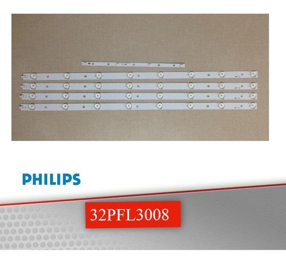 Kit De Réguas De Led Philips 32pfl3008