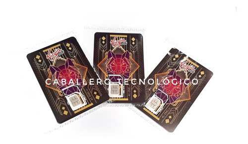 Sim Card Virgin 4g Lte Paquete X 100 Und. Envio Inmediato