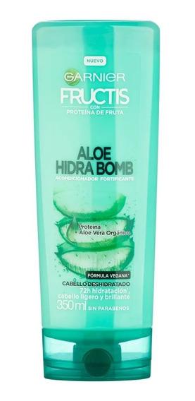 Garnier Fructis Acondicionador Aloe Hidra Bomb X 350ml