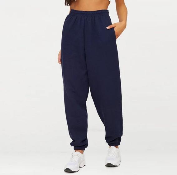 Pantalón Mujer Jogging Frizado Jogger Pants Dama Moda