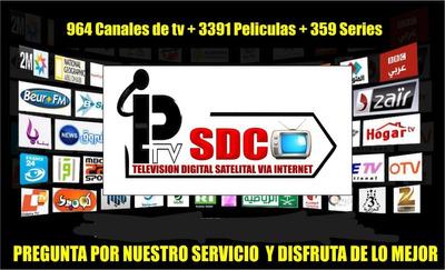 Plataforma Digital, Películas Y Series, Canales De Tv.