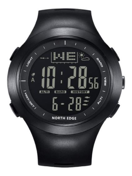 Relógio North Edge Original Pesca Barômetro Altímetro 100 M