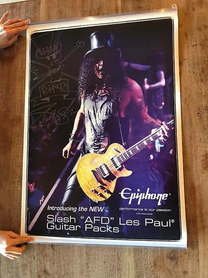 Poster EpiPhone Slash Afd Les Paul Guitar 84x59cm Ilimitados