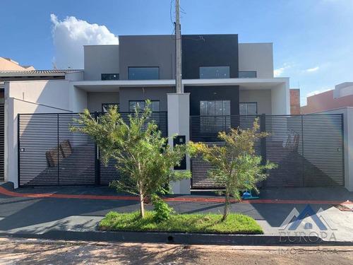 Imagem 1 de 21 de Casa Com 3 Dormitórios, 75 M² - Venda Por R$ 310.000,00 Ou Aluguel Por R$ 1.550,00/mês - Jardim Piza - Londrina/pr - Ca1349
