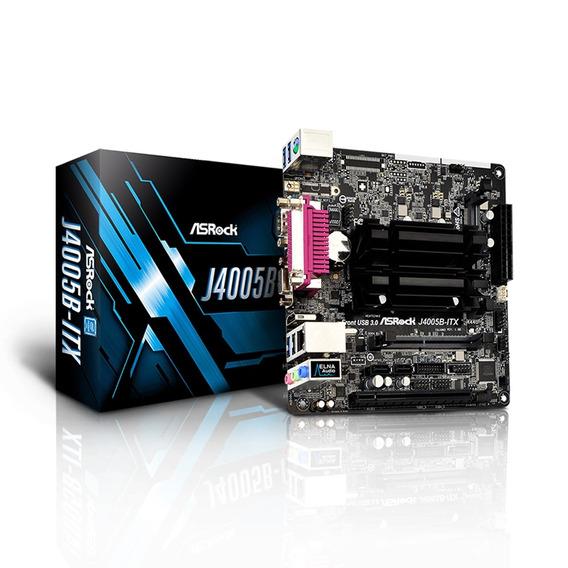 Placa Mae C/ Processador Cel Dual Core Ddr4 Sodi Asrock