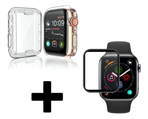 Protector Apple Watch 38 40 42 44 Mm + Vidrio