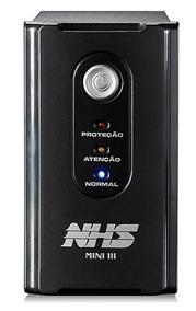 No Break Nhs Bi Volt Bateria Moura Nova Revisado Fabrica