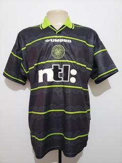 Camisa Oficial Futebol Celtic Escócia 1999 Away Umbro G