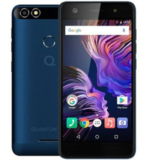Smartphone Quantum You 4g 32gb Azul Quad-core 3gb Ram Duas C