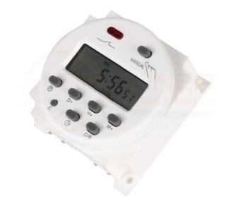 Timer Digital 12v Dc Automático Programación Diaria/mensual