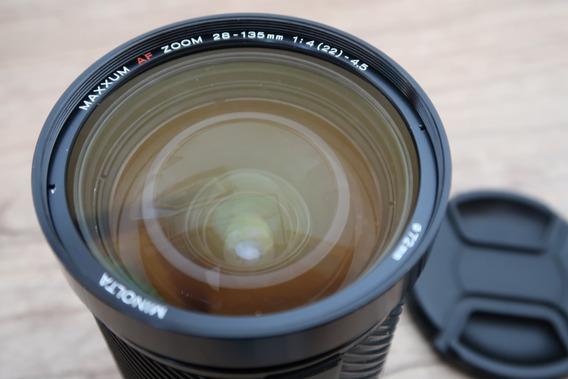 Lente Minolta Para Sony Alpha 28-135mm Full Frame!