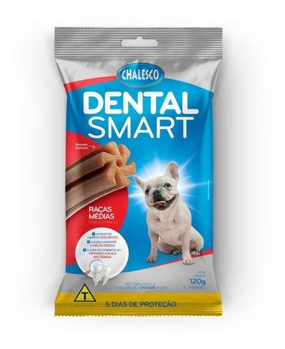 Petisco Cachorro Biscoito Limpa Dentes Sabor Frango 120gr