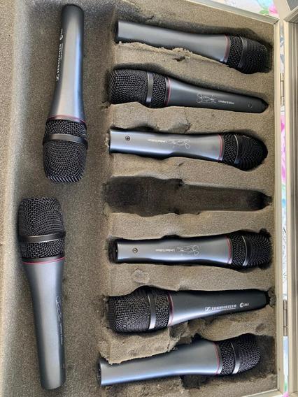 Microfone Sennheiser E865 Serie Especial Signature Sting Top