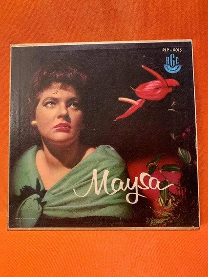 Vinil Disco Lp 78 Rpm Maysa