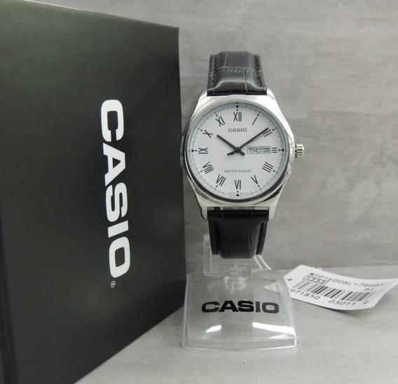 Relógio Casio Masculino - Mtp-v006l-7budf - Nota Fiscal E Garantia Oficial Casio