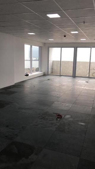 Sala Em Centro, Santos/sp De 150m² Para Locação R$ 9.000,00/mes - Sa150336
