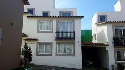 Casa Renta Condominio A 5 Minuto De Santa Fe