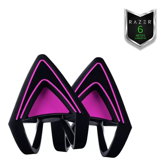 Razer Kitty Ears Para Kraken - Neon Roxo Com Garantia E Nf-e