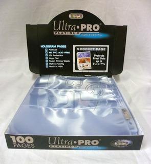 Micas Para Billetes Ultra-pro Platinum Series X 10 Unidades