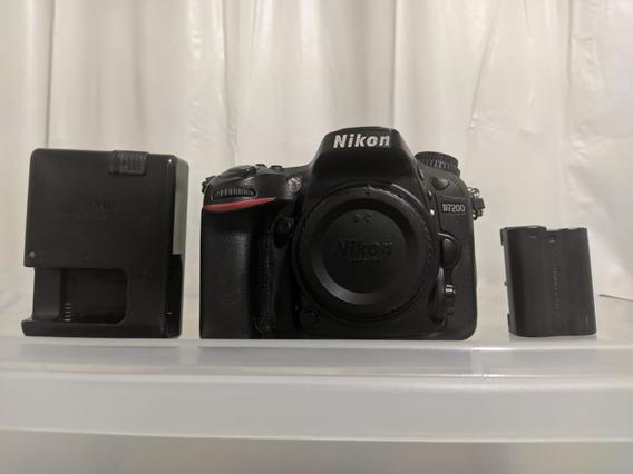 Câmera Nikon D7200 Usada