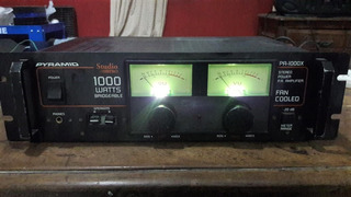 Potencia Pyramid Pa 1000 X Studio Pro Dj Vintage Audio