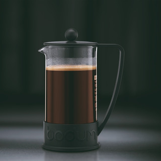 Cafetera De Prensa Francesa 3 Tazas Marca Bodum- Roja- Negra