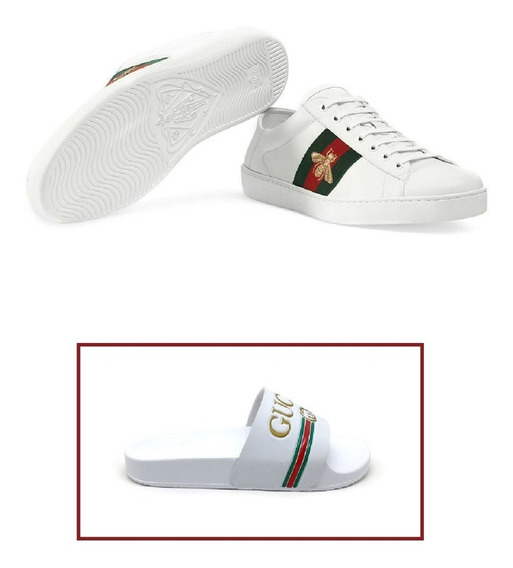 Tênis Gucci Baskets Ace Taille 7.5 Feminino/ Frete Gratis