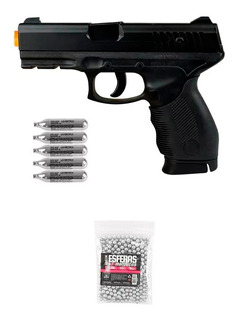 Pistola De Pressão Co2 Kwc 24/7 4.5mm + Co2 + Esferas