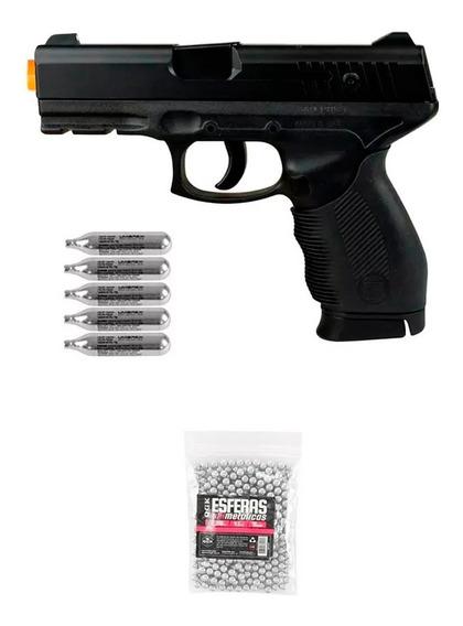 Pistola De Pressão Co2 Kwc 24/7 4.5mm + Co2 + Esferas