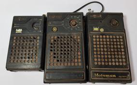 Lote Com 03 Radios Motoradio Dunga 2 Dunga3 E Motoman Peças