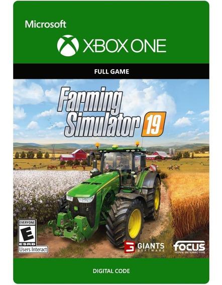 Farming Simulator 19 - Xbox One - Digital Codigo 25 Dígitos