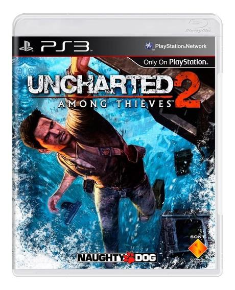 Uncharted 2 Ps3 | Mídia Física Sem Caixinha