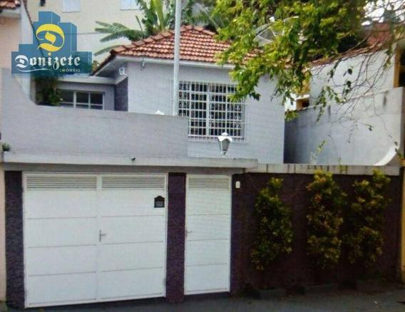 Casa Residencial À Venda, Parque Das Nações, Santo André. - Ca0517