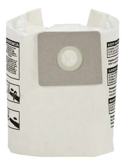 Bolsa Para Aspiradora 2 Gal Paquete Con 3 Piezas Shop Vac